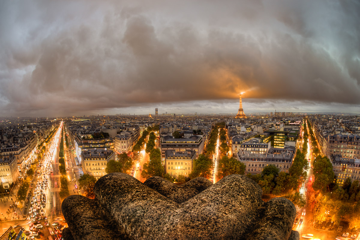 Bad Weather in Paris by Jacob Surland