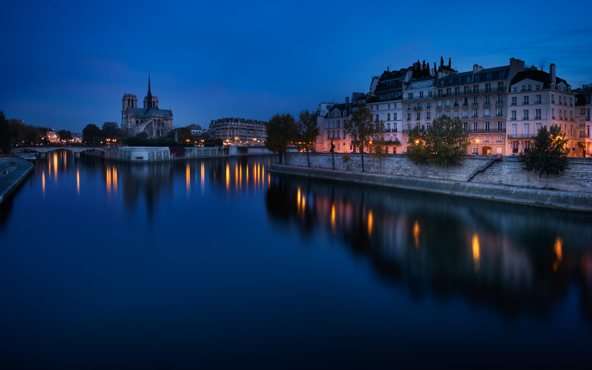 Notre Dame in the Morning by Jacob Surland